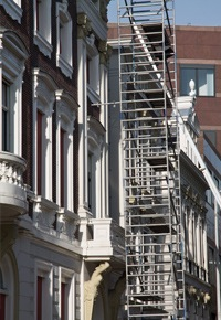 Nettoyage à sec de la façade