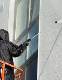 nettoyage chimique façade