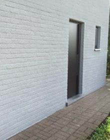 rénovation façade liège à pulvériser