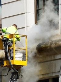 nettoyer façade vapeur