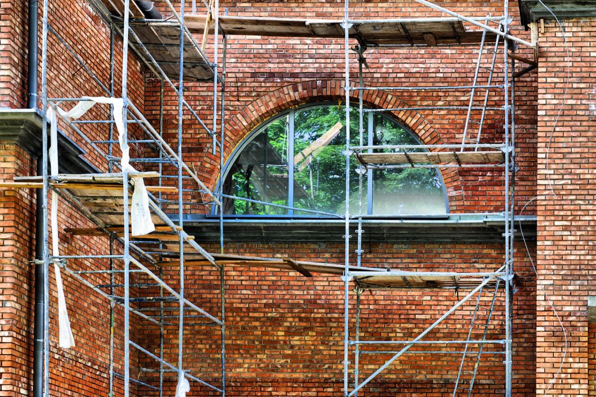nettoyage de façade briques