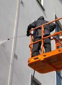 travaux de préparation peinture façade