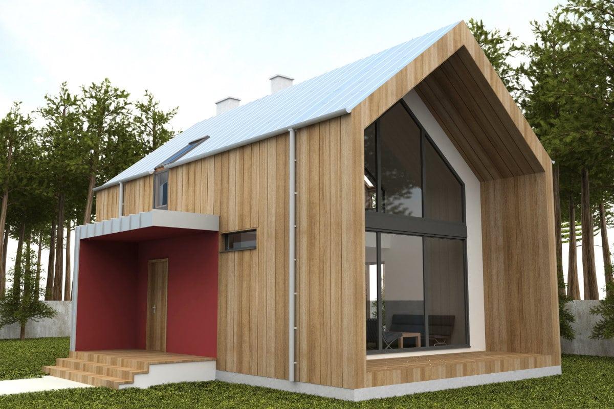 bardage de façade bois